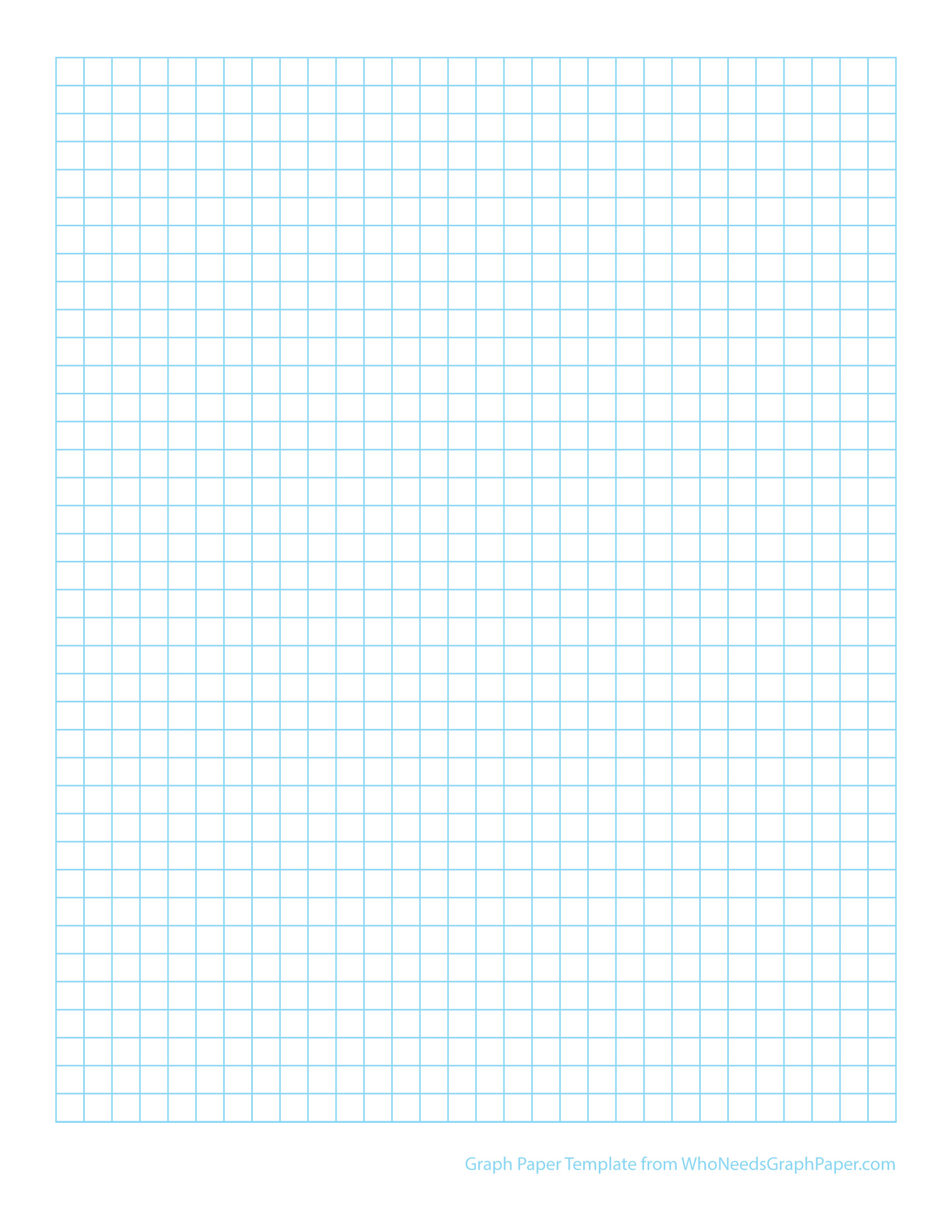 Doc555717 Printable Grid Paper Template Printable Graph Paper – Graph Paper Template